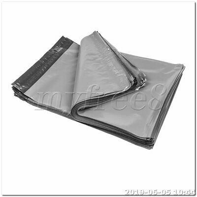 100pcs 30 x 50cm Waterproof Envelopes Shipping Bags Poly Mailers gray