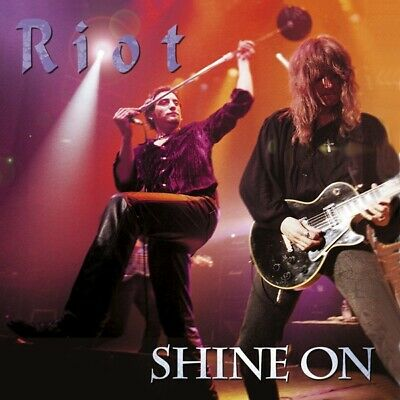 Riot - Shine On-REISSUE CD/DVD CD (2) Metal Blad NEW