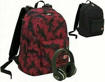 Zaino Scuola +Cuffie Seven Backpack Dagger Reversibile The Double 201001955