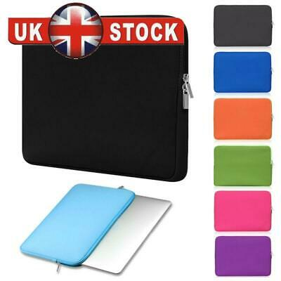 Soft Laptop Bag  Case Cover For MacBook Air Pro Lenovo HP Dell 11-17 inch NEW