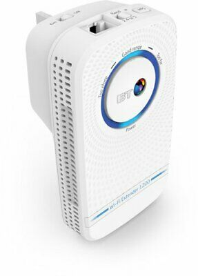 BT Wi-Fi Extender 1200 with 11ac 1200 Dual-Band Wi-Fi - White (826128)