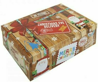 Christmas Eve Box -XMAS Kids Gift Santa Elf Xmas Delivery Magical Wrap UK