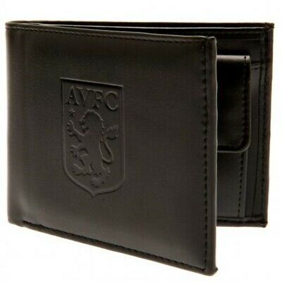 Aston Villa Football Club Official Leather Wallet Rfid Protection Team Crest
