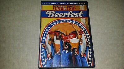 Beerfest Dvd 2006 Unrated Full Screen Edition Movie Video Film Disc Comedy Funny