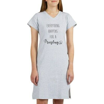 CafePress Everything Happens For A Riesli Nightshirt (78831706)