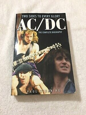 Two Sides To Every Glory Ac/Dc The Complete Biography Paper Back Book