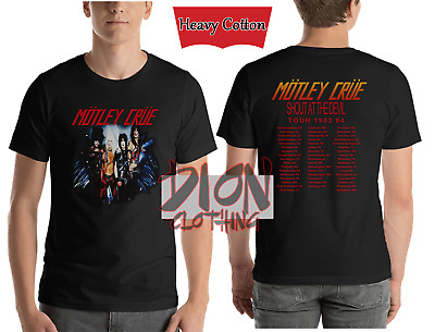 NEW RARE Motley Crue 1983 1984 Shout At The Devil T Shirt USA Size S-2XL