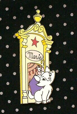 Disney Pin ARISTOCATS Marie Dressing Room Door Limited Edition 1000 LE