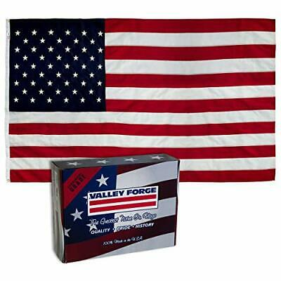 Valley Forge Flag 4 x 6 Foot Large Cotton US American Flag