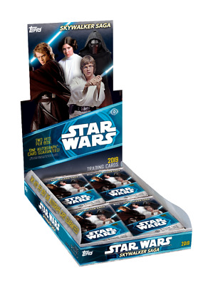 2019 Topps Star Wars Skywalker Saga Hobby Box