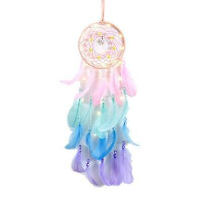 Dream Catcher Net With Feathers Beads Dreamcatcher Chime Wind Wall Hanging Decor