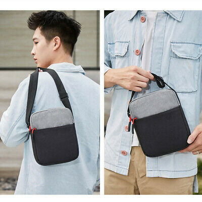 Men Waterproof Shoulder Bag Pockets Anti-Theft Outdoor Portable Messenger Bag
