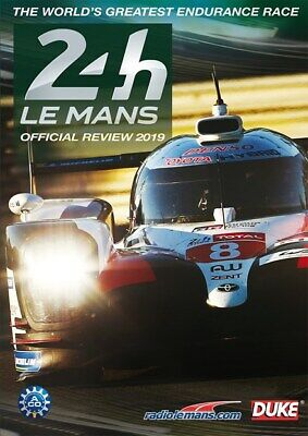 Le Mans 24h Official Review 2019 DVD Alonso, Buemi, Nakajima in Toyota - Ford