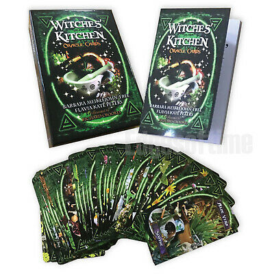 Witches Kitchen Oracle Cards Wicca Pagan Gothic Fantasy Wicca Pagan Halloween