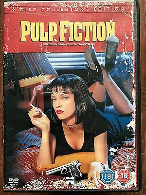Pulp Fiction DVD 1994 Tarantino Cult Film Movie Classic 2-Disc Collector's Ed