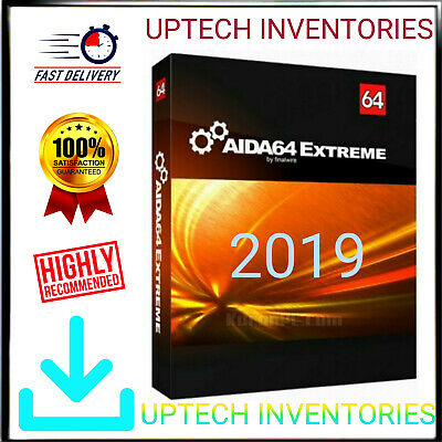 Aida64 Extreme -3 Lifetime License Keys  - Fast Email Delivery [Promo]