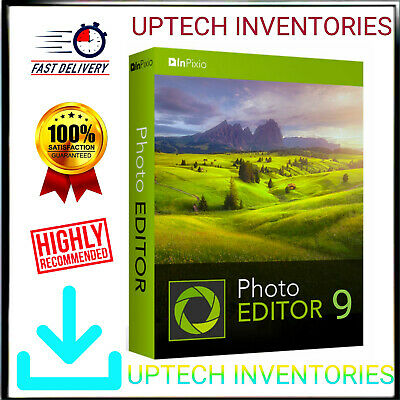 New✅InPixio Photo Editor 9✅Full Version✅License Key✅Download link✅For Windows✅