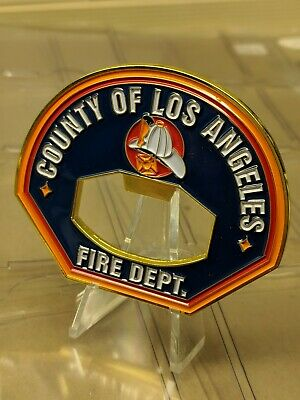 4 Los Angeles County Fire Department Challenge Coin s Bottle Opener Firefighter