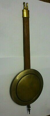 Authentic Art Deco German Wall Clock Pendulum (x4)