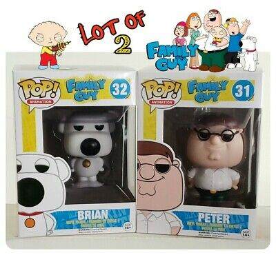 Family Guy Funko Pop! Bundle Peter And Brian Brand New & ☆Mint Guaranteed☆
