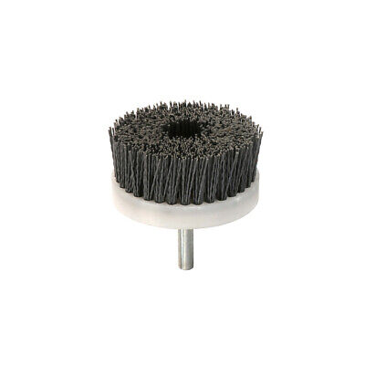 "90mm Abrasive Wire Brush Polishing Nylon Cup Buffing for Weed 3/8"" Shank 180#"