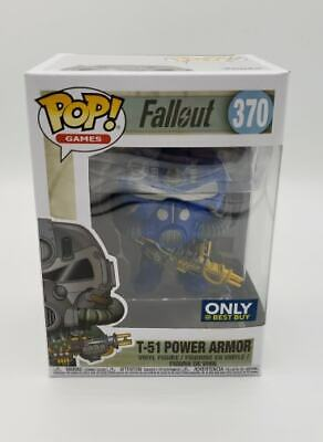 Funko Pop! Games Fallout T-51 Power Armor #370 Best Buy Exclusive