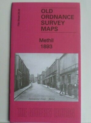 OLD ORDNANCE SURVEY MAPS METHIL FIFE SCOTLAND 1893  Godfrey Edition New