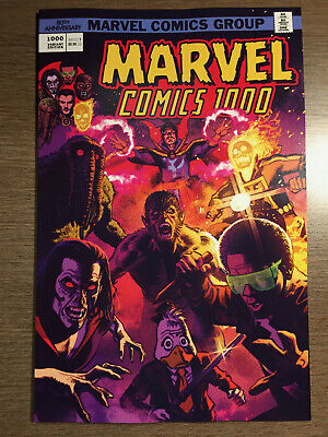 MARVEL COMICS #1000 - SMALLWOOD 1970's VARIANT COVER - 1ST PRINT - MARVEL (2019)