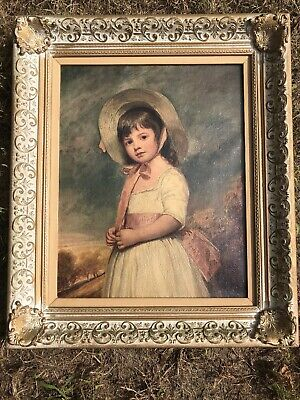 Juliana Willoughby by George Romney  Child Girl Portrait 8x10 Print Picture 1567