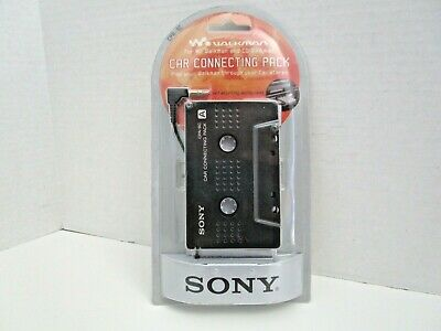 NEW SEALED - Sony Car Connection Pack Cassette Adapter CPA-9C for CD/MD Walkman