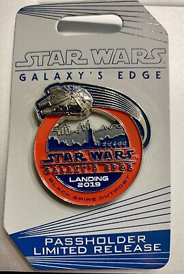 NEW Disney STAR WARS GALAXY'S EDGE PREVIEW Passholder Pin Black Spire Outpost