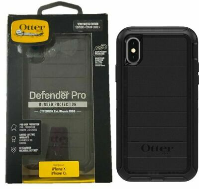 OtterBox Defender Series Pro with Holster for Apple iPhone XS and X Black OP