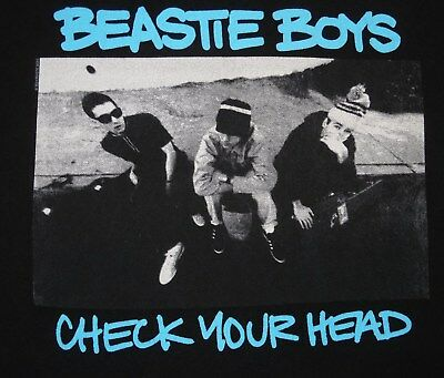 "Beastie Boys - ""Check Your Head"" t-shirt - size M - Ad Rock - MCA - Mike D"