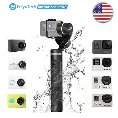 Feiyu G6 Stabilized Handheld Gimbal 3-Axis for Action Cams GoPro Hero ,Sony RX0