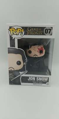 Funko POP! Television Game of Thrones Jon Snow #07 Hot Topic Exclusive Bloody