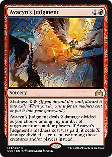 AVACYN/'S PILGRIM X4 Innistrad ISD Magic MTG MINT CARD