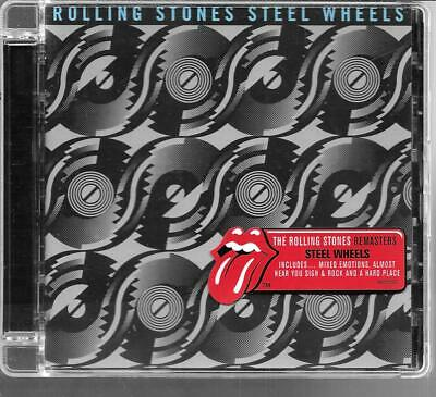 Cd Album 12 Titres--The Rolling Stones--Steel Wheels - Remastered