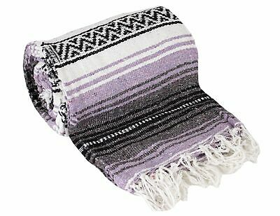Canyon Creek Authentic Mexican Yoga Falsa Blanket, multi-color