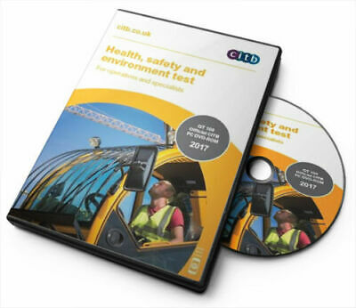 CITB CSCS Card Test dvd/rom Operatives & Specialists multi language voice-overs