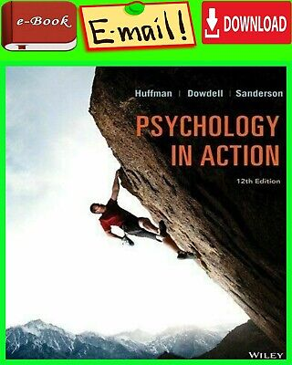"Psychology in Action 12 th edition "" E-ß00K "" ( INSTANT Delivery )"