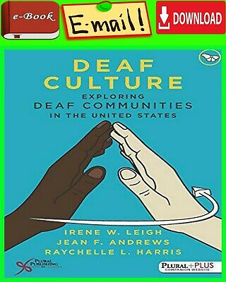 "Deaf Culture: Exploring Deaf Communities in the United States by Harris ""E-ß00K"""