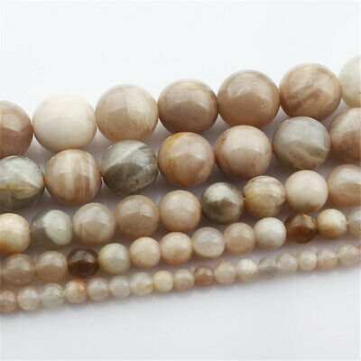 Nature Sunstone Beads Diy Accessories Shining Wholesale Hole Jewelry Making