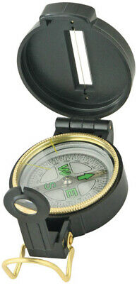 Lensatic Military Compass Engineer Directional Floating Dial Plastic Explorer