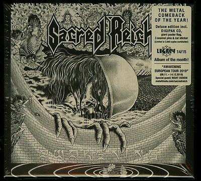 Sacred Reich Awakening Box Set CD new