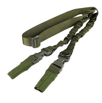 Tactical Scorpion Gear Dual Point Heavy Duty  Bungee Sling -Green