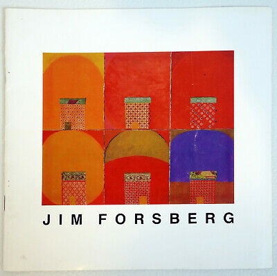 JIM FORSBERG 1986 Exhibit Catalog PROVINCETOWN ART MUSEUM selection of works