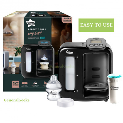 Tommee Tippee Closer to Nature Perfect Prep Machine Day and Night Black