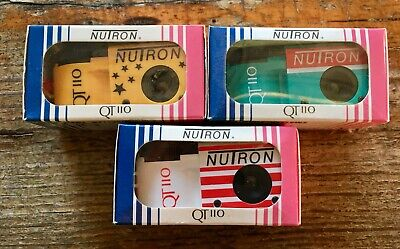 Vintage Miniature Nutron QT110 French Made In France Camera