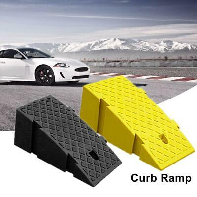 Car Portable Lightweight Plastic Curb Ramps Heavy Duty Threshold Ramp Kit New