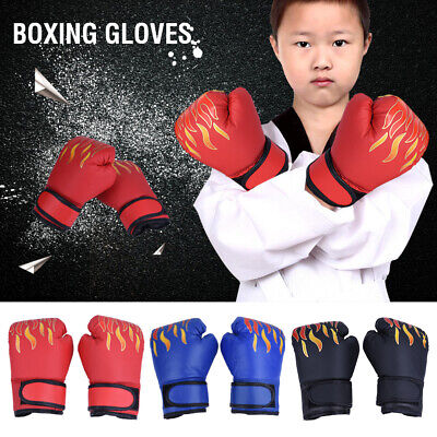 Kids Kick Boxing Gloves Punching Bag Mitts MMA Muay thai Training Sparring